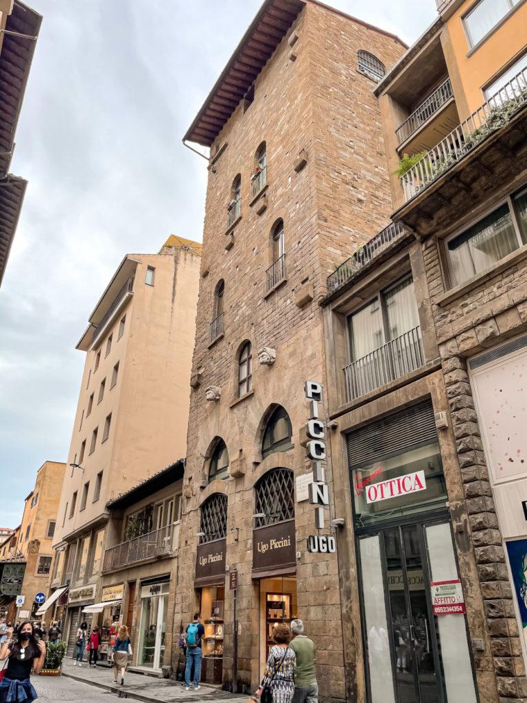 Firenze alternativa: Torre degli Amidei